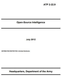 Open Source Intelligence - Department of the Army